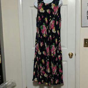 Lauren Ralph Lauren Floral Dress Size 18W